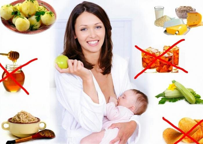 Диета кормящей мамы для трех месячного ребенка