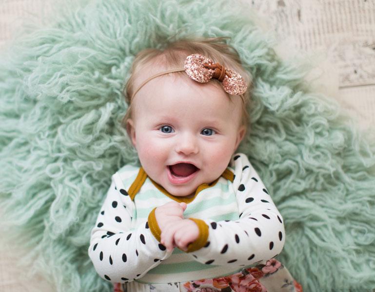 Младенец в 4 месяца