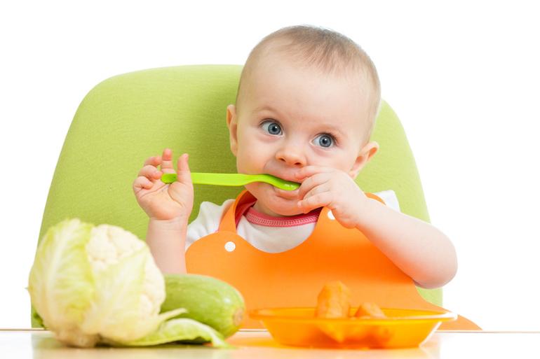 Прикорм овощами