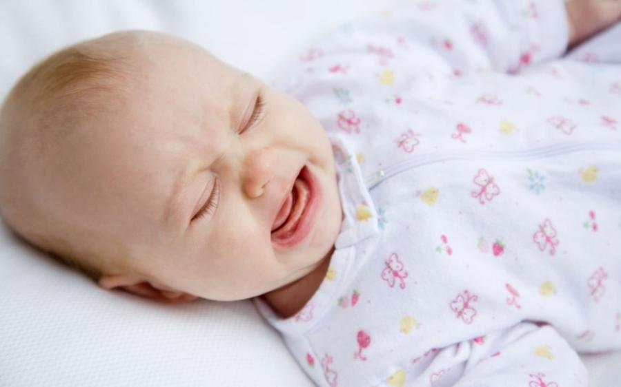 Плач малыша в 4 месяца