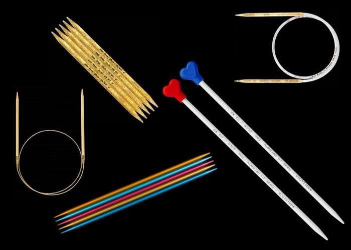 Выбор спиц для вязания