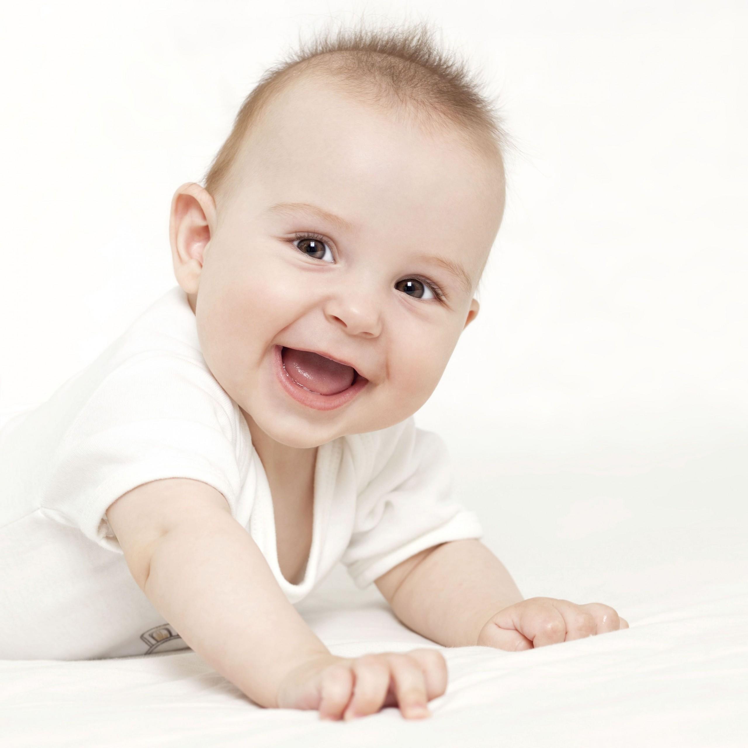 Здоровый и активный малыш