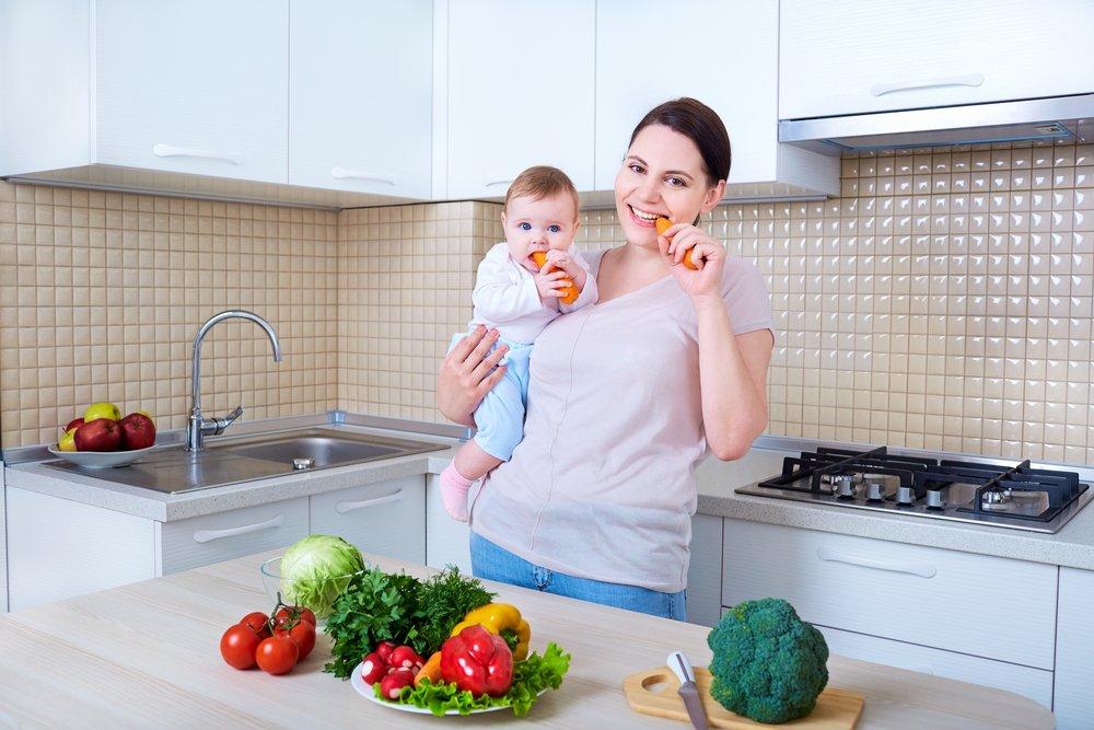 Овощи полезны кормящей маме