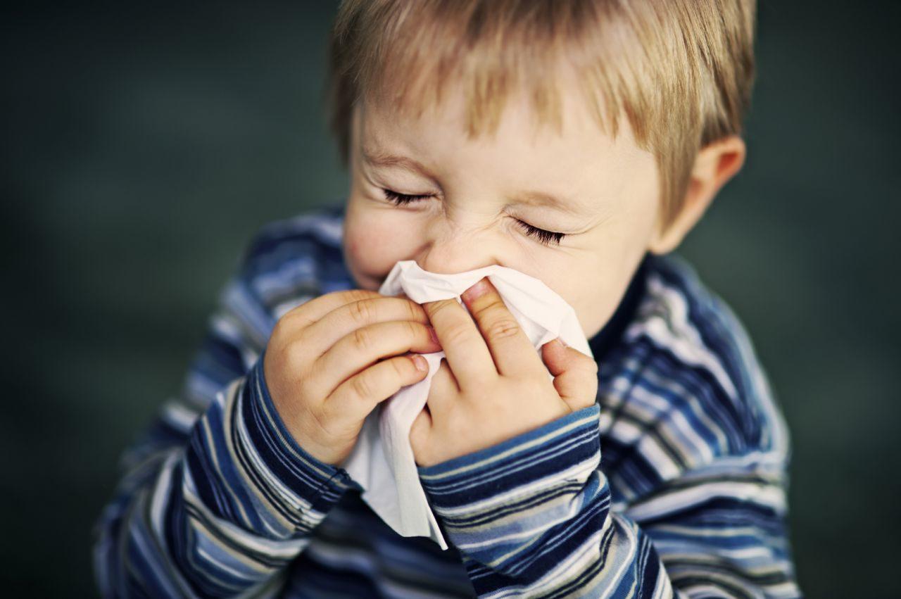 Ребенок простужен