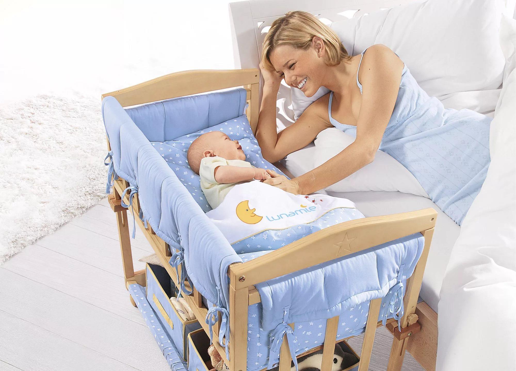 Удобное расположение кроватки