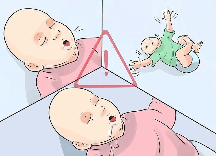 Плач и выгибания младенца может вызвать гастроэзофагеальный рефлюкс