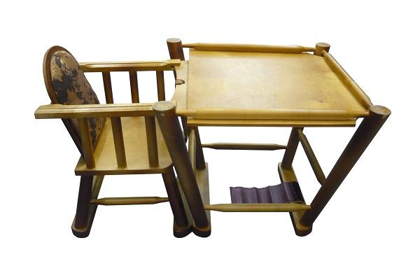 Стул с раскладным столиком