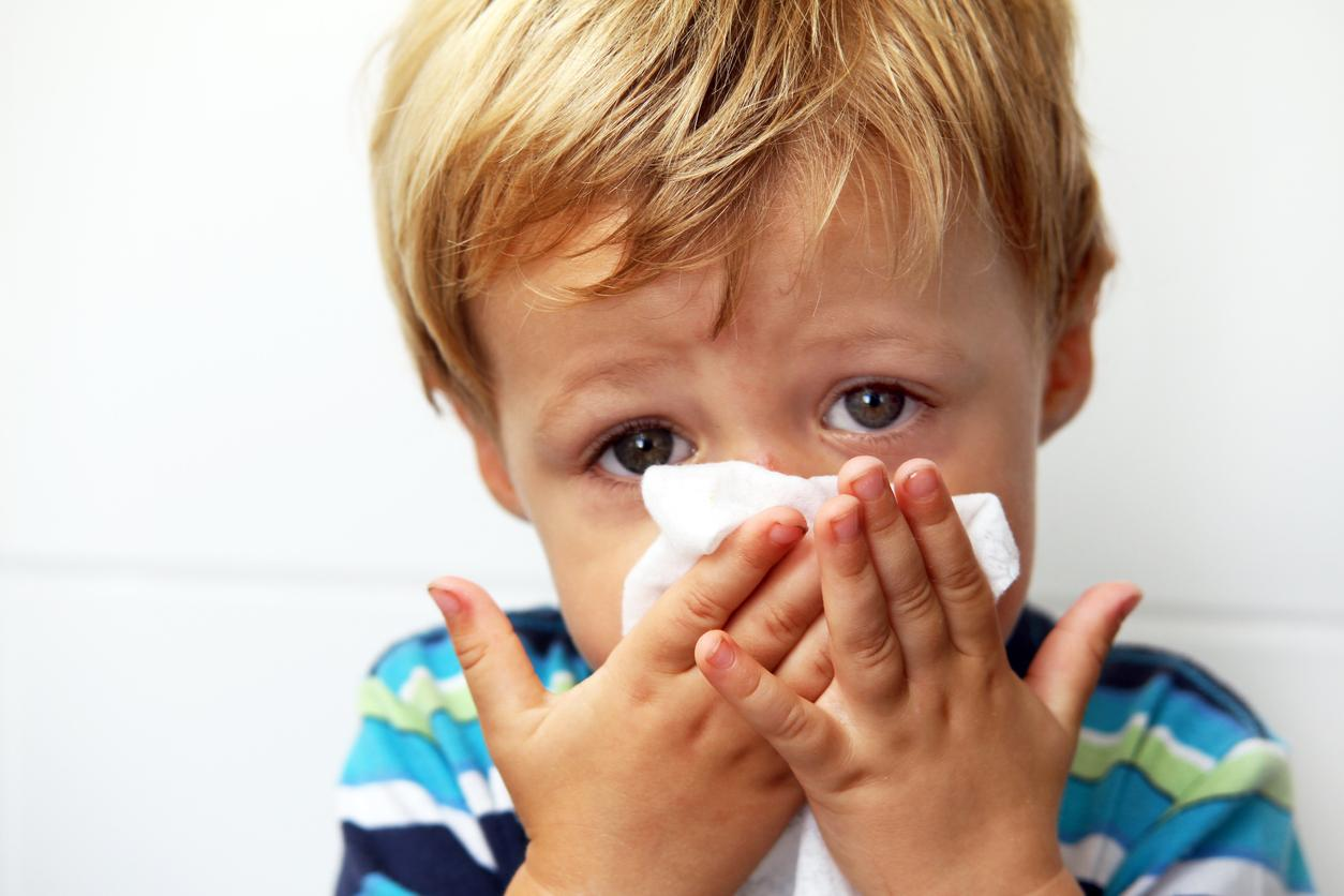 Заболевший малыш