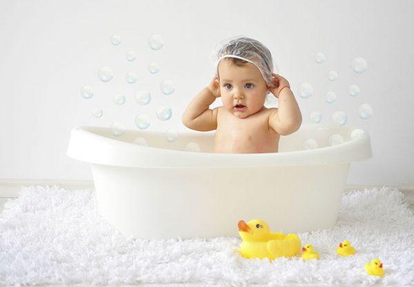 Ванные процедуры грудничка