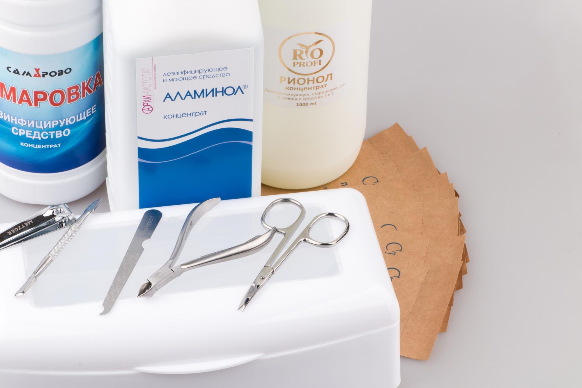 Препараты для стерилизации оборудования