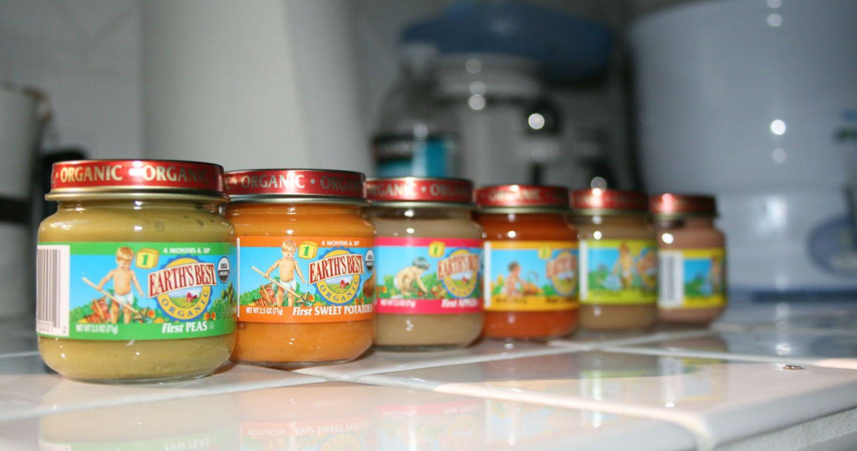 Баночное овощное пюре для детского питания