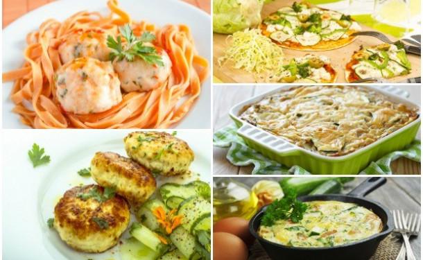 Аппетитные блюда для мамы