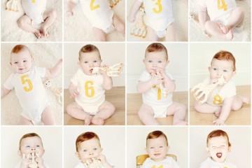 Как меняется ребенок от рождения до года