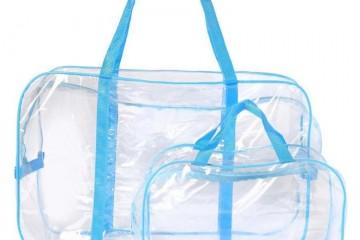 Разрешенная прозрачная сумка