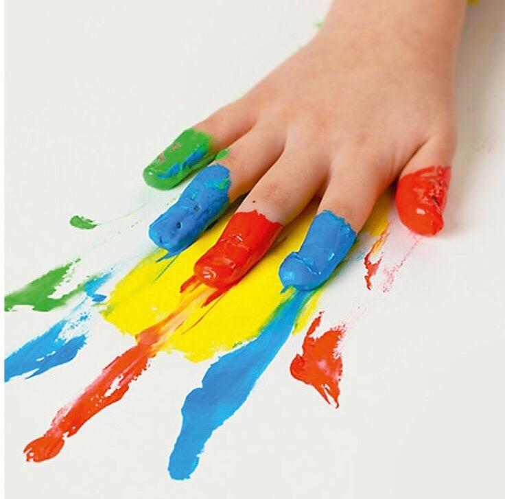 Краски для пальцев