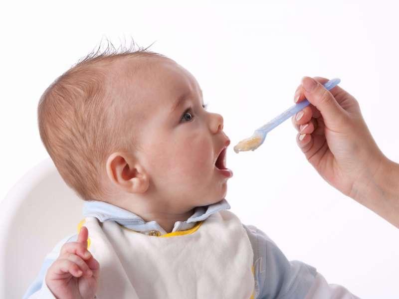 Кормление шестимесячного грудничка картофельным пюре