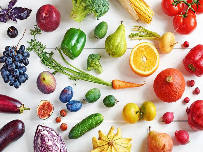 Витамины, необходимые ребенку, присутствуют в овощах и фруктах