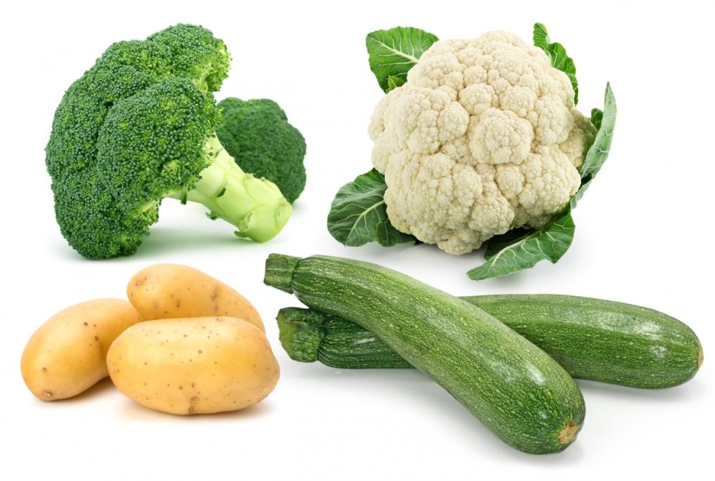 Картофель можно совмещать с различными овощами