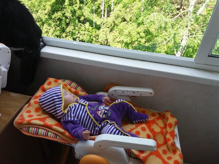 Сон на балконе