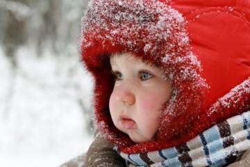 Грудничок зимой