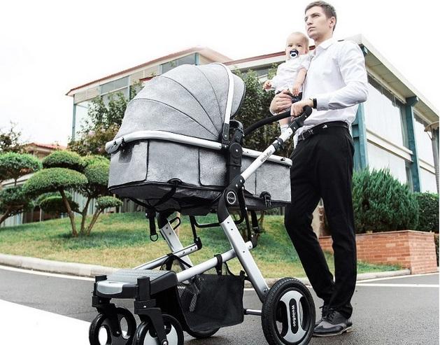 Папа и новорожденный