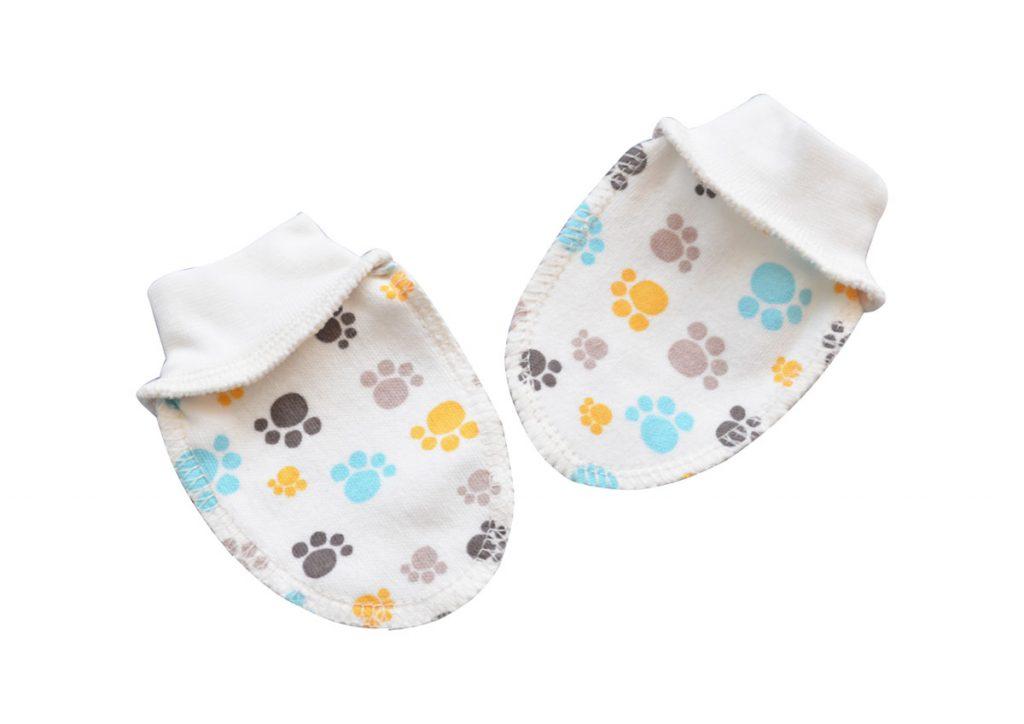 Варежки для новорожденных