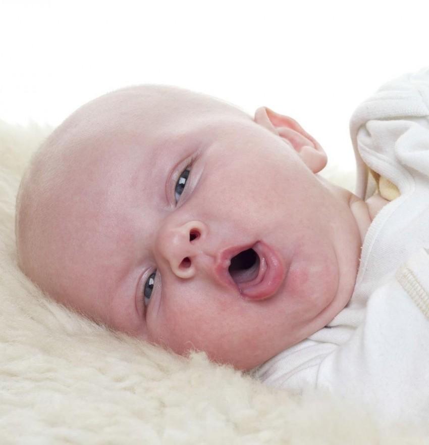 Малыш кашляет