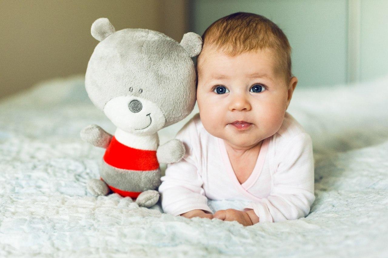 Полугодовалый малыш