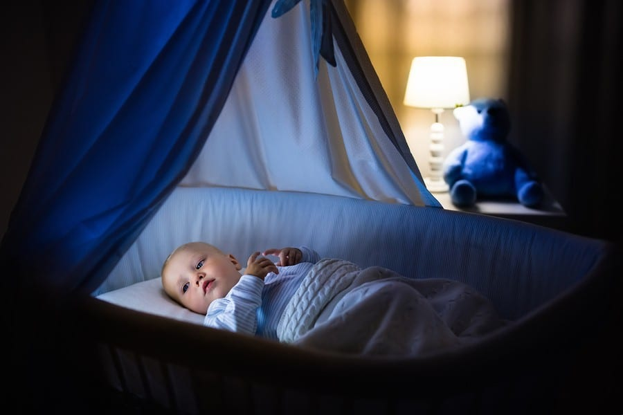 Малыш проснулся ночью