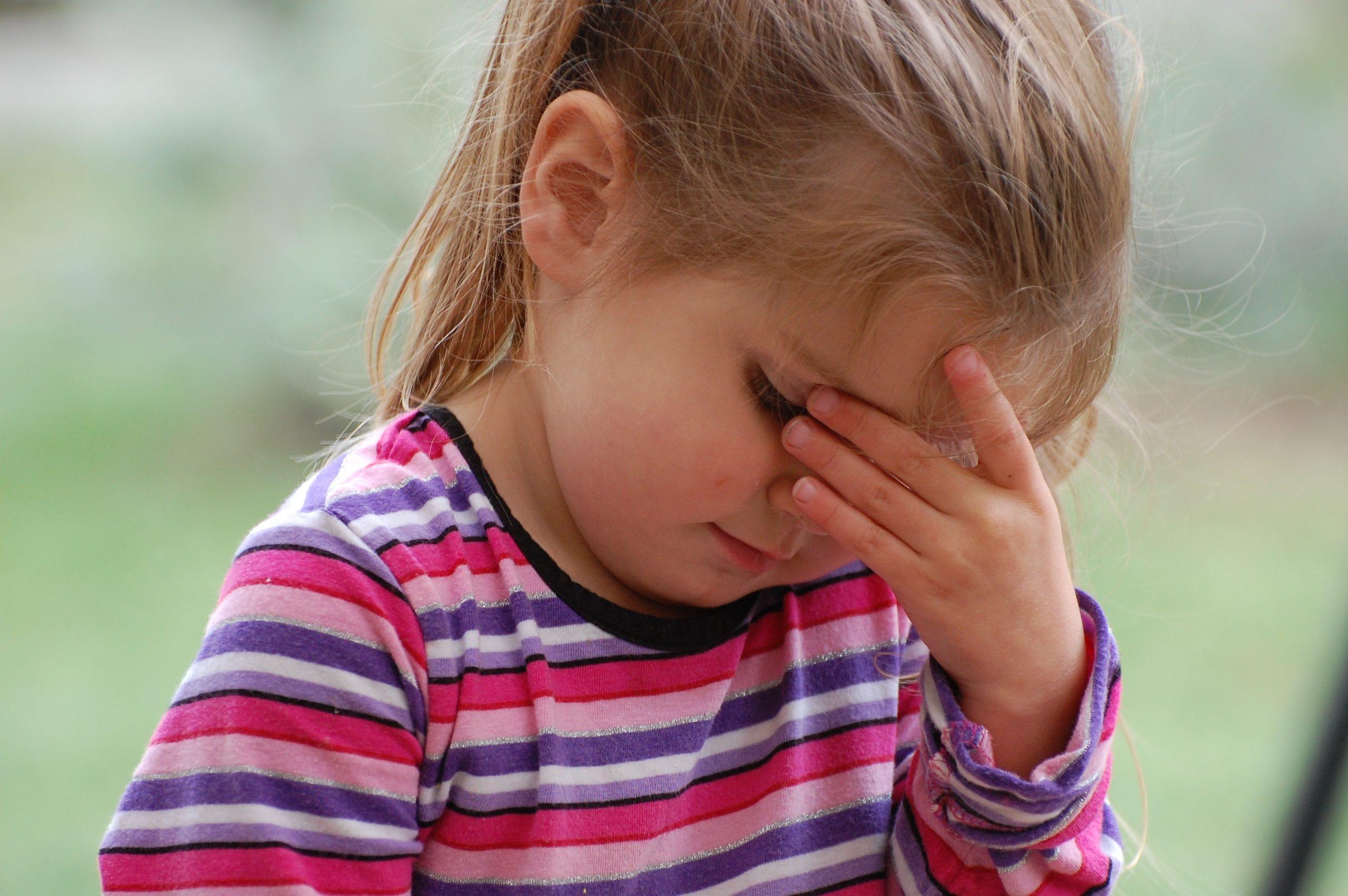 У ребенка болят глаза