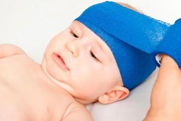 Травма головы новорожденного