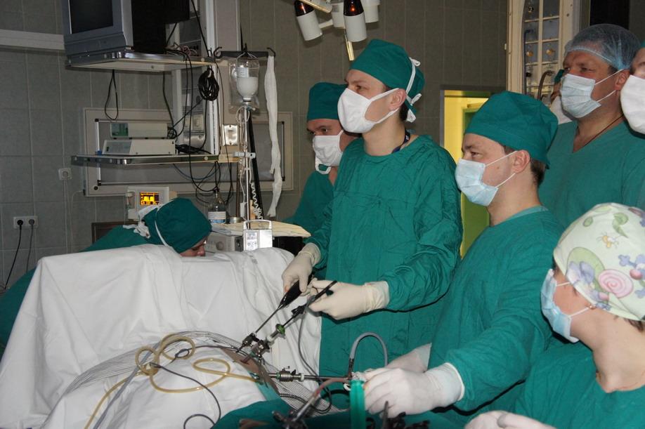 Операция на почках у новорожденного