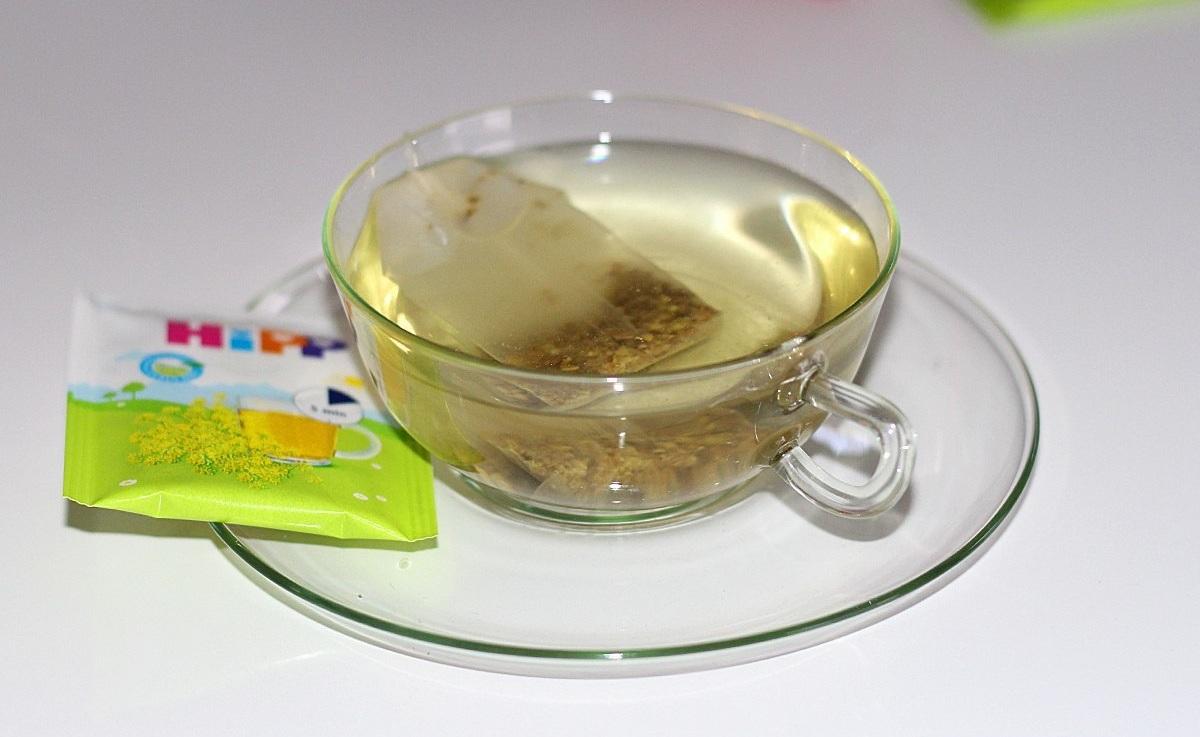 Приготовление чая в пакетике