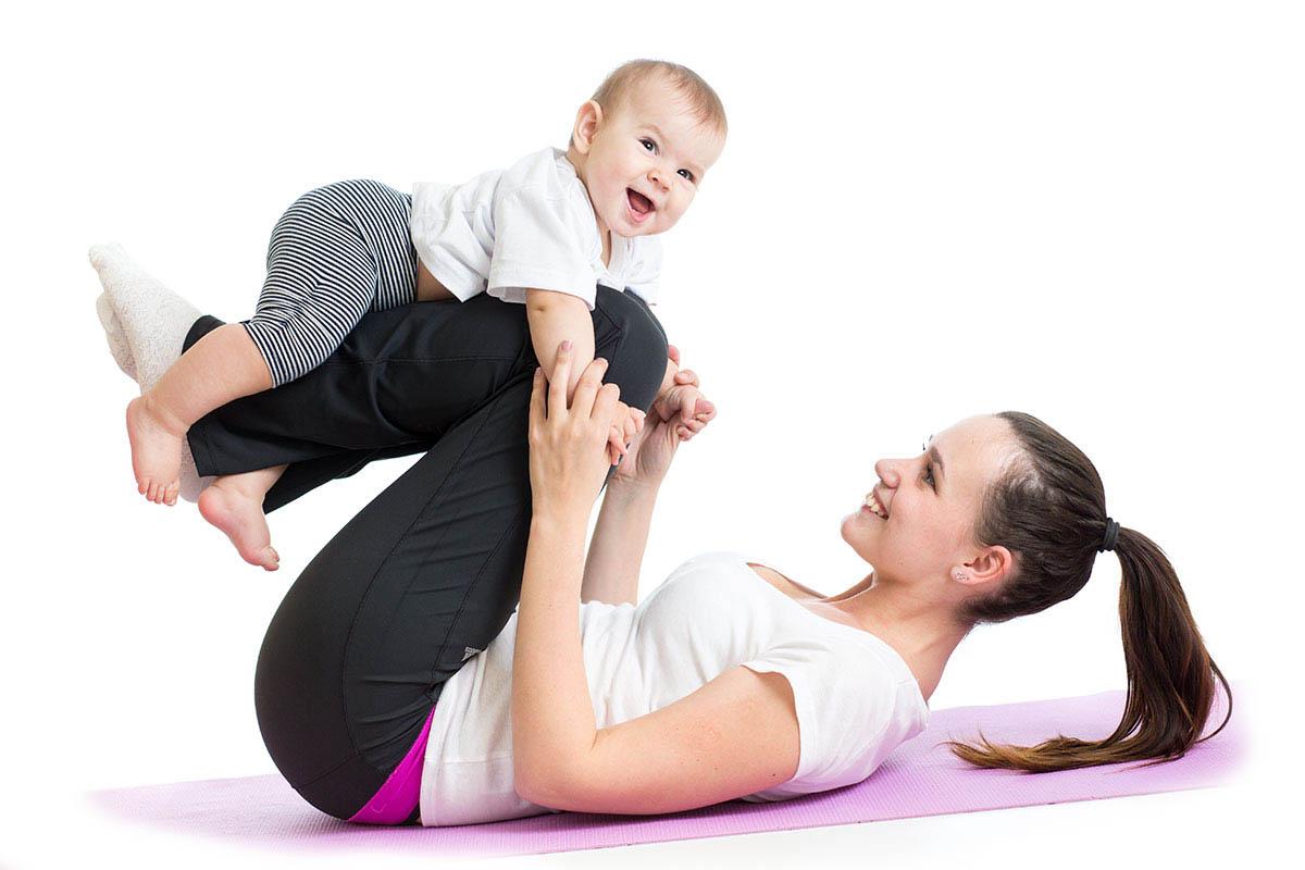 Гимнастику проводят, когда ребенок бодр и весел
