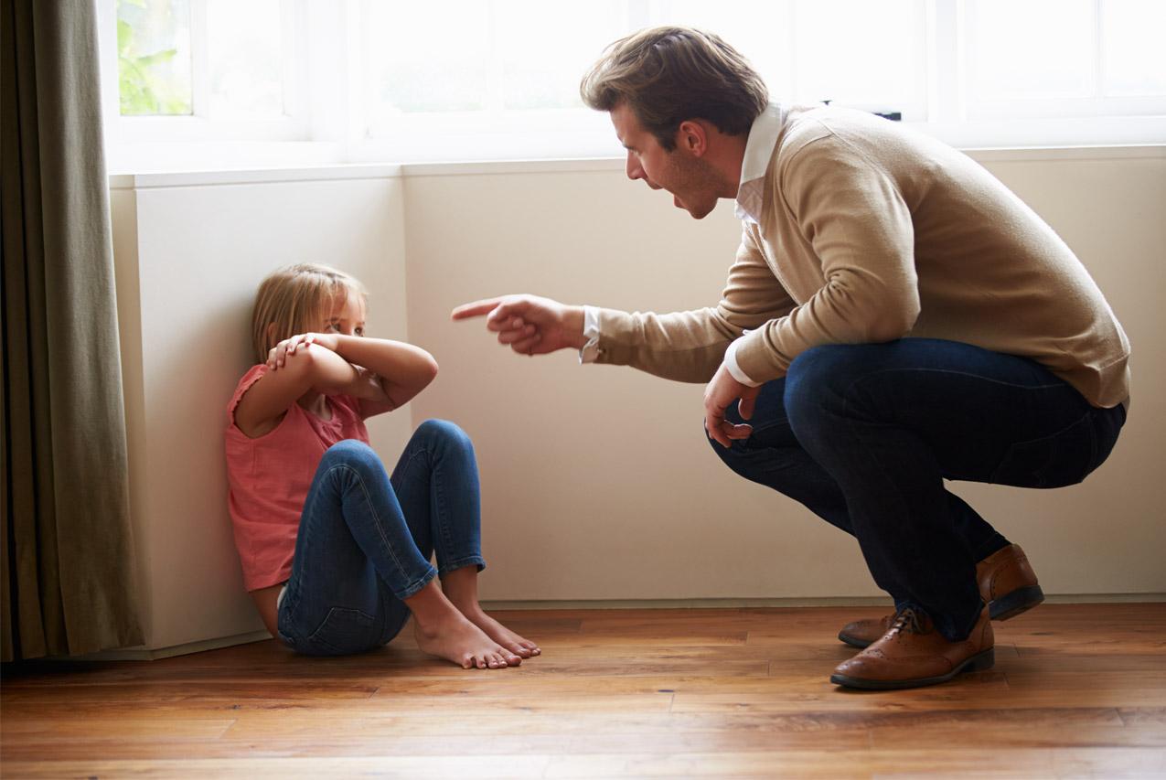 Нельзя кричать на ребенка – это усугубит ситуацию