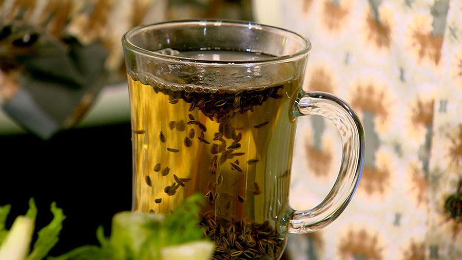 Приготовление чая из семян фенхеля