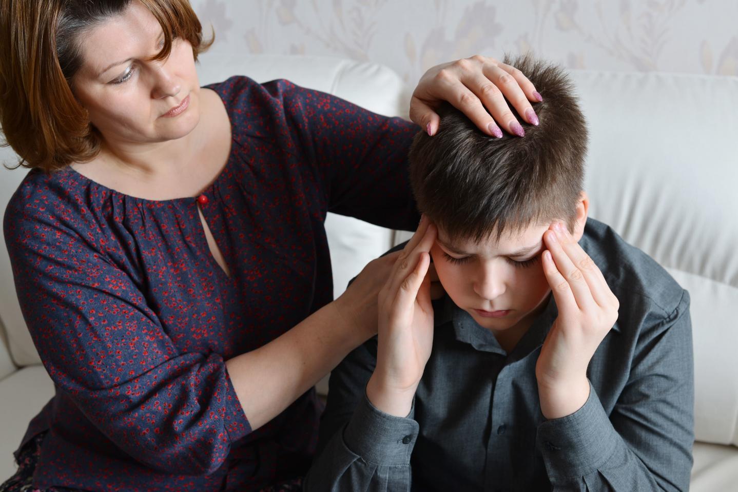 Дети страдают головными болями наравне со взрослыми