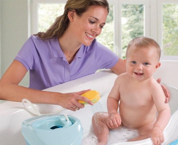 Чистота и усиленная гигиена позволят избежать многих проблем с кожей ребенка