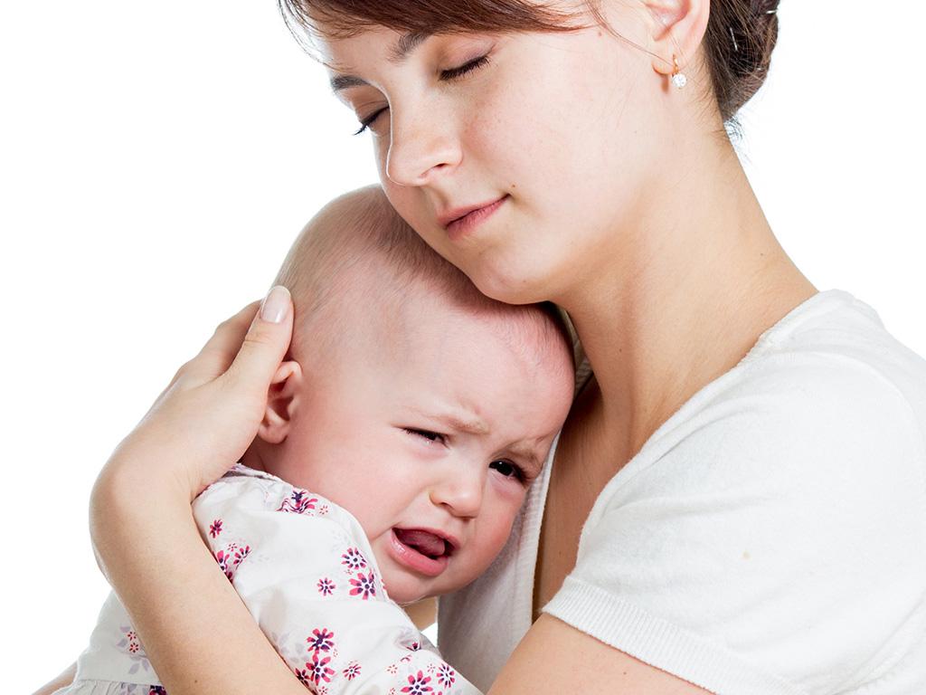 Болеющий малыш