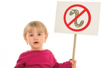 Знак против паразитарных заболеваний