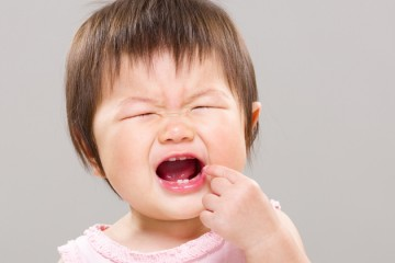 Ребенок прикусил язык