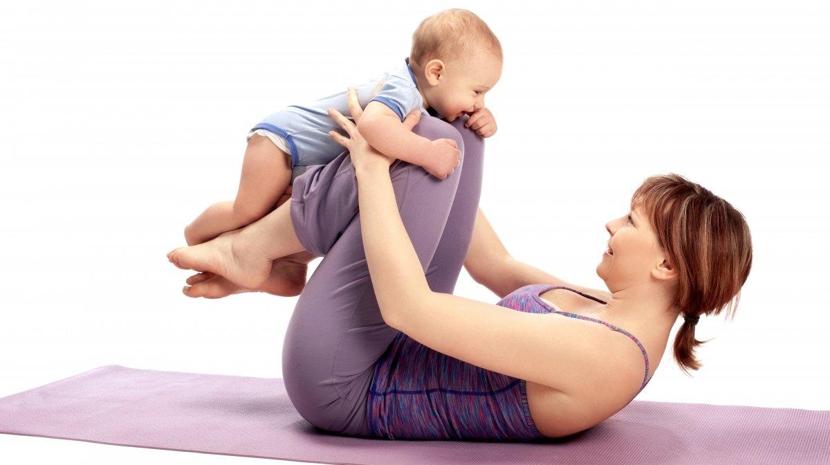 Физическая активность с грудничком