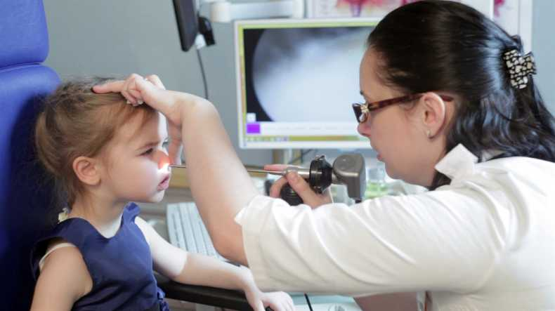 Эндоскопия носоглотки дошкольнику