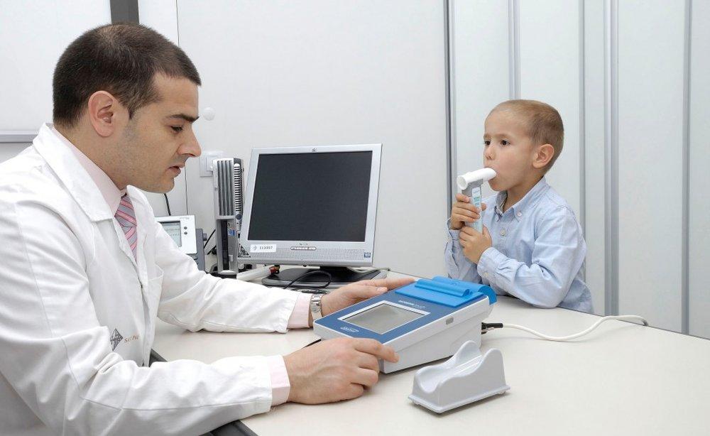 Спирометрия у ребенка