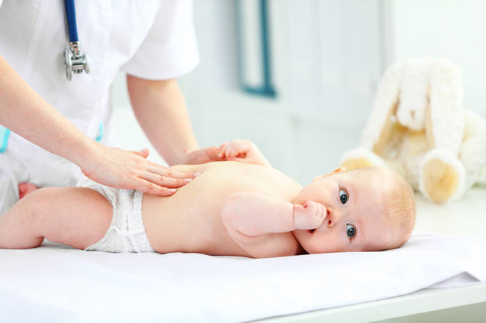 Обследование грудничка при подозрении на патологию кишечника