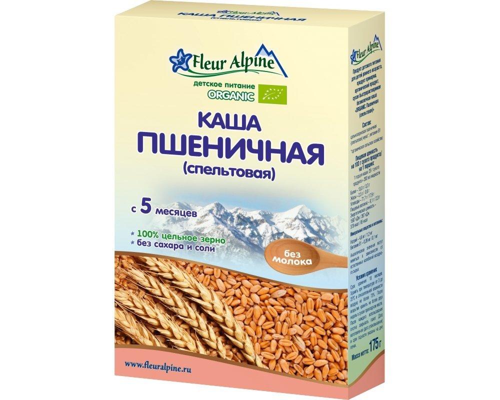 Крупа «Флер Алпин Органик» пшеничка (спельтовая)