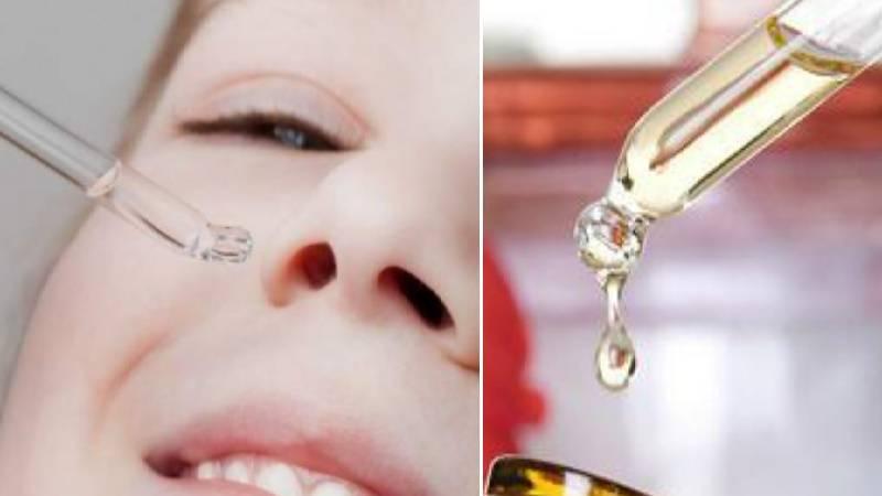 Водно-солевой раствор для профилактики заложенности