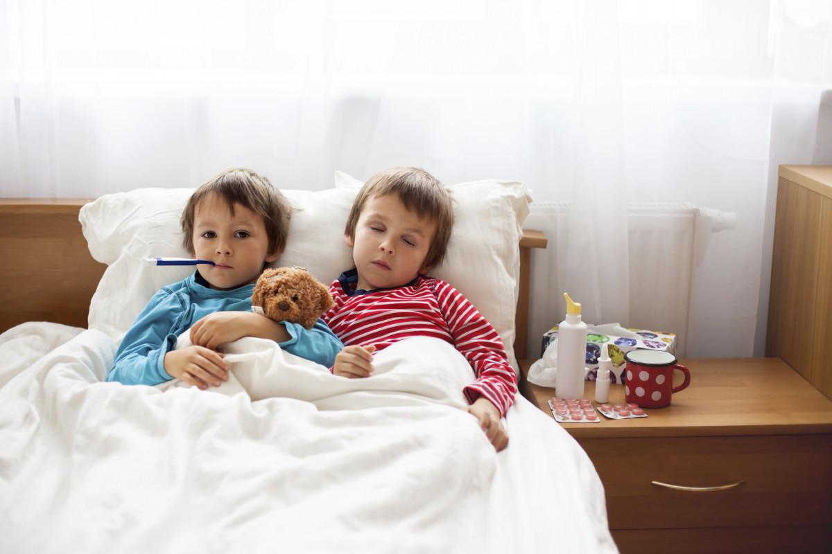 Заболели оба ребенка