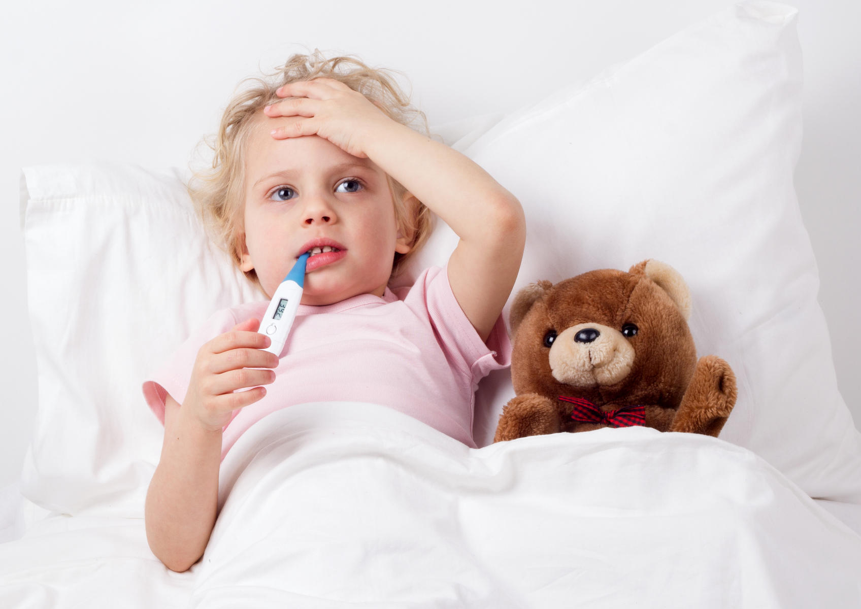 Высокая температура – сигнал о необходимости вызвать врача
