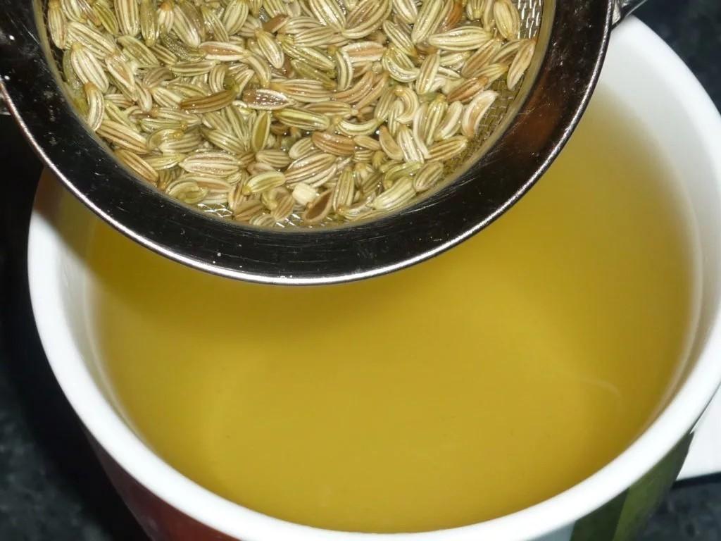 Приготовление напитка из семян укропа